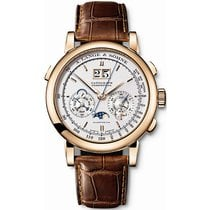 A. Lange & Söhne Datograph Rose gold 41mm Silver United States of America, Iowa, Des Moines