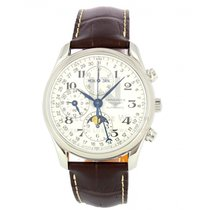 Longines Master Collection Stal 40mm Srebrny