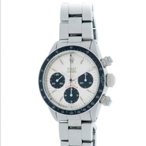 Rolex Daytona pre-owned 37mm Silver Chronograph Steel