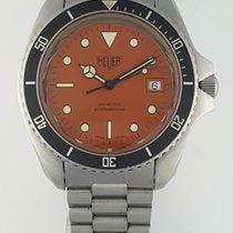 Heuer VINTAGE HEUER DIVER MONNIN 844 CASE REF 980 005 AUTOMATIC 1980 pre-owned
