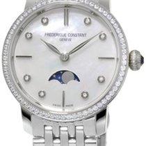 Frederique Constant Slimline Moonphase 206MPWD1SD6B nuovo