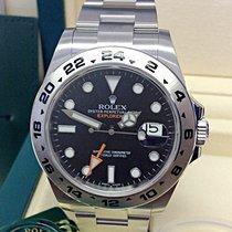 Rolex Explorer II Steel 42mm Black No numerals United Kingdom, Wilmslow
