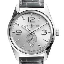 Bell & Ross Steel 41mm Automatic BRG126-WH-ST/SCR/2 new United States of America, Florida, Sarasota