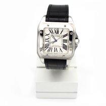 Cartier Santos 100 Steel 38mm White Roman numerals