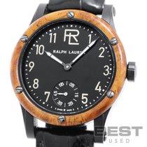 Ralph Lauren Acero 45mm Cuerda manual RLR0220710 nuevo