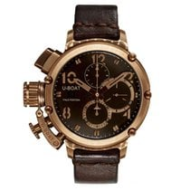 U-Boat Chimera pre-owned 46mm Brown Chronograph Date Leather