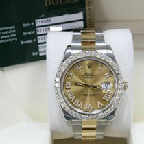 Rolex Or jaune Remontage automatique 41mm occasion Datejust II