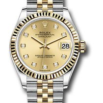 Rolex Datejust Gold/Steel 31mm Champagne United States of America, New York, NY