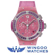 Hublot - BIG BANG - TUTTI FRUTTI LINEN PURPLE CHRONOGRAPH Ref....