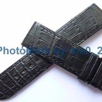 ジャガー・ルクルト (Jaeger-LeCoultre) flat Black Alligator Watch Strap...