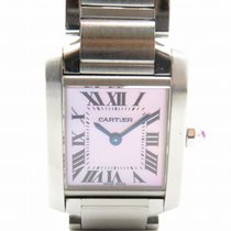 卡地亚 (Cartier) Tank Francaise Watch Stainless Steel Quartz...