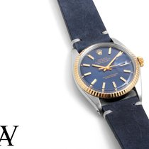 "劳力士  (Rolex) 36mm TT Datejust Factory Blue ""Fat Index"" Dial w/..."