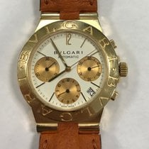 Bulgari Diagono Chronograph Automatic Yellow gold