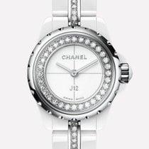Chanel J12 nouveau 2019 Quartz Montre avec coffret d'origine et papiers d'origine H5238