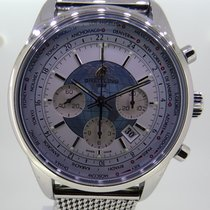 Breitling Transocean Chronograph Unitime Staal 46mm Nederland, Helmond