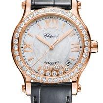 Chopard Happy Sport Automatic Rose Gold & Diamonds