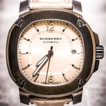 Burberry 43mm Automatic pre-owned Silver