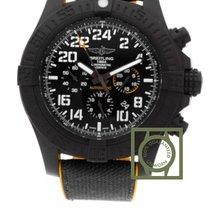 Breitling Chronomat Avenger Hurricane Breitlight Black Dial...