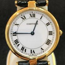 Cartier neu Quarz 30mm Gelbgold