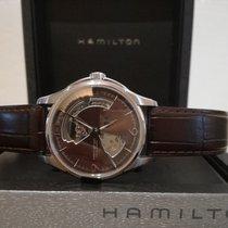 Hamilton 40mm Remontage automatique 2010 nouveau Jazzmaster Open Heart Brun