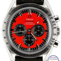 Omega Speedmaster Chronograph Schumacher Red Legend 42mm...