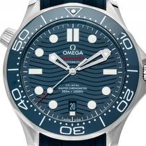 Omega Seamaster Diver 300m Co-Axial Master Chronometer Stahl...