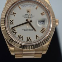Rolex Day-Date II Ouro rosa 41mm