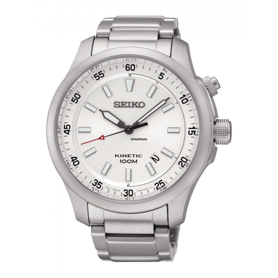 ff1b7ee39268 Seiko Reloj SEIKO Neo Sports Hombre Plateado Acero Calendario for  266 for  sale from a Trusted Seller on Chrono24