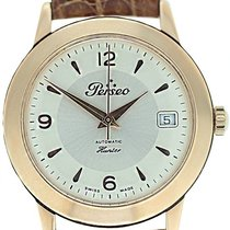 Perseo Rose gold Automatic Silver 37mm pre-owned