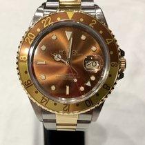 Rolex GMT-Master II Gold/Steel 40mm Bronze No numerals