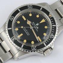 Rolex 5513 Acier 1966 Submariner (No Date) 40mm occasion