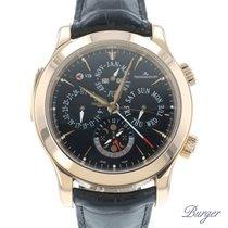 Jaeger-LeCoultre Master Grand Réveil Rose gold 43mm Black