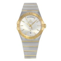 Omega Constellation Day-Date Steel 42mm Silver