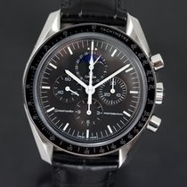 Omega Speedmaster Professional Moonwatch Moonphase Acero 42,00mm Negro Sin cifras