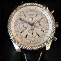 Breitling Bentley 6.75 Steel 48mm White No numerals United States of America, Kansas, Mission