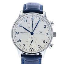 IWC Portuguese Chronograph IW3714-46 2010 pre-owned