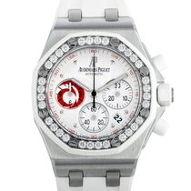 Audemars Piguet Royal Oak Offshore Lady Steel 37mm White