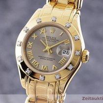 Rolex Lady-Datejust Pearlmaster 29mm Srebrny