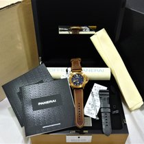 Panerai Special Editions Bronce 47mm Azul Sin cifras