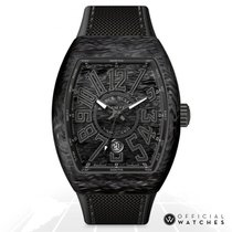 Franck Muller Carbon Automatic Black 44mm new Vanguard