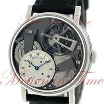 Breguet Tradition Platinum 41mm Transparent Roman numerals United States of America, New York, New York