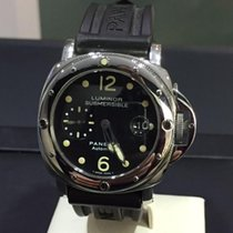 Panerai 44mm Automatic 1999 pre-owned Luminor Submersible Black