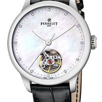 Perrelet First Class Steel 35mm Mother of pearl No numerals