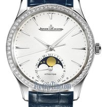 Jaeger-LeCoultre Master Ultra Thin Moon Steel 34mm Silver United States of America, New York, Airmont