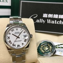 Rolex Cally - 178240 31mm Datejust White Roman [NEW]