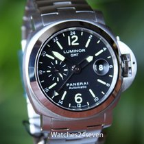 Panerai Pam 297 Luminor Automatic GMT 44 mm on Bracelet