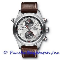 IWC Pilot Double Chronograph new Automatic Watch with original box and original papers IW371806