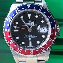Rolex GMT Master II Ref. 16710 Pepsi stick dial 2007 box&p...