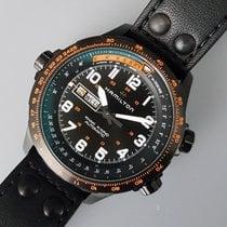 Hamilton Khaki X-Wind nuevo Automático Reloj con estuche y documentos originales H77785733