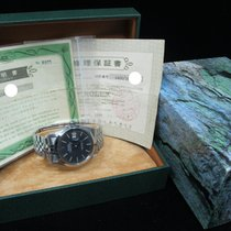 Rolex DATEJUST 1600 Stainless Steel Original Matte Black Dial...